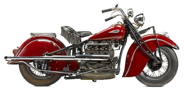1941 Indian Four  Frame no. 441251 Engine no. DDA251
