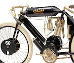 1907 Indian Single Board Track Racer Recreation Engine no. 5696