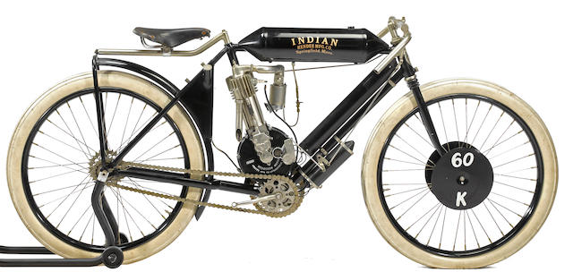 1907 Indian Board Track Racer Engine no. 5696