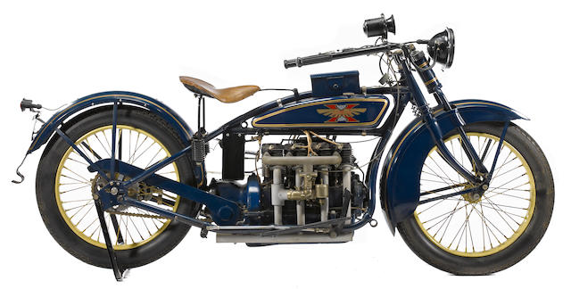 1925 Henderson Four Frame no. D10660A