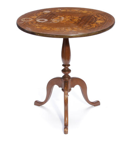 A Dutch Rococo style tilt top occasional table