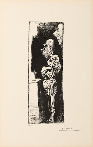 Picasso Espedadores Litho