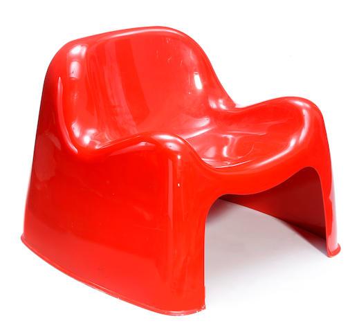 A Sergio Mozza for Artemide Toga chair