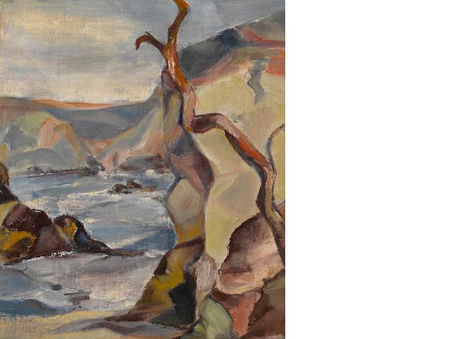B.Von Eichman, Monterey coast