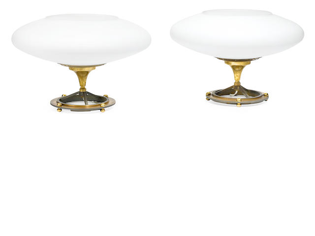 A pair of Gianni Vallino lamps