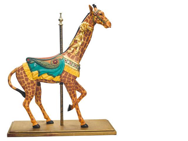 A Herschell-Spillman giraffe