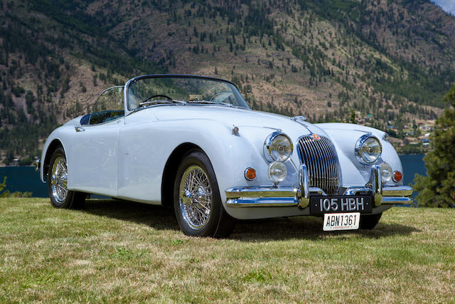 1959 Jaguar XK 150S 3.4 OTS  Chassis no. T820041D/N Engine no. VS1999-9