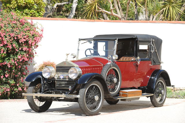 From the collection of the late Sam Garrett,1925 Rolls-Royce 20hp Salamanca  Chassis no. GSK81 Engine no. G1523