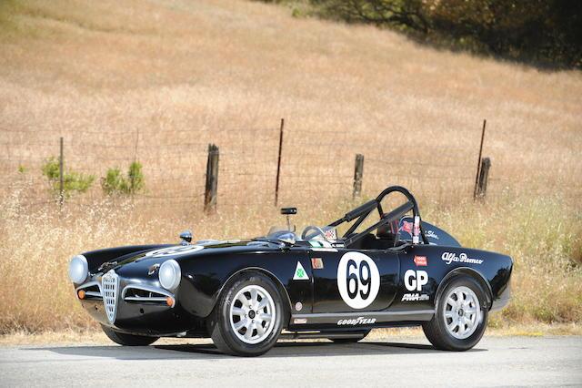 """1957 Alfa Romeo Giulietta 'Monoposto' Spyder """"Sophia"""""""