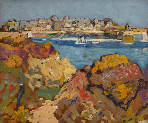 Paul Dougherty (American, 1877-1947) Land's end 21 x 25 1/2in