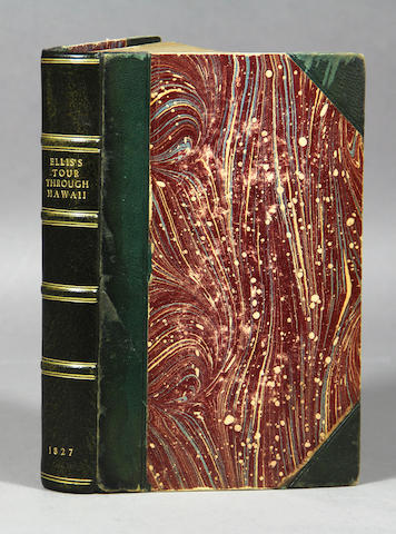 ELLIS. Narrative of a Tour through Hawaii. 1827. 2nd ed.