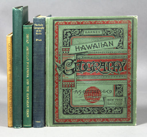 [HAWAIIAN GEOGRAPHY & CARTOGRAPHY.] 9 vols.