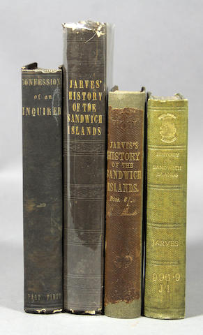 JARVES. Hawaii. 6 vols.