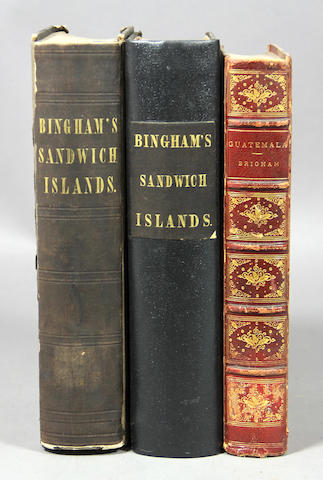 BINGHAM. Hawaii, etc. 7 vols.