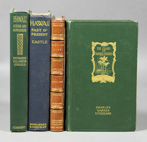 [HAWAIIAN LITERATURE & TRAVEL - LATE 19TH & 20TH C.] Approx. 40 vols.