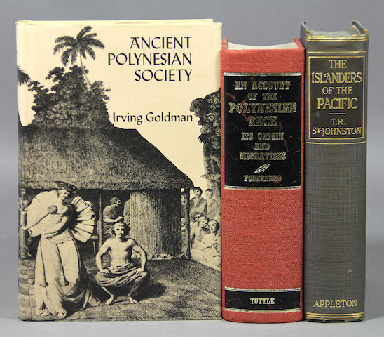 [POLYNESIAN ANTHROPOLOGY & ETHNOGRAPHY.] Approx. 65 items.