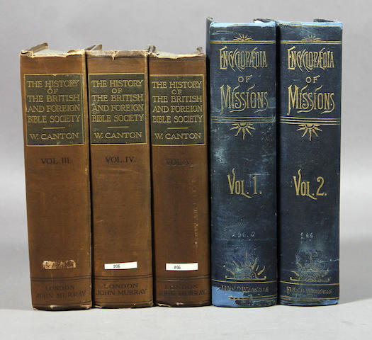 [MISSIONARY HISTORY & REFERENCE.] 27 vols.