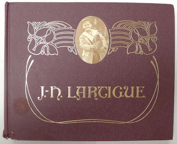 J. H. Lartigue: Boyhood Photos of J. H. Lartigue. Guichard, (1966).