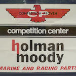 A Holman Moody Dealer Sign,