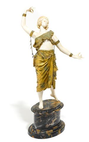 René-Paul Marquet (French, 1875-1939) dancer
