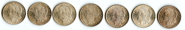 Morgan Dollars (7)