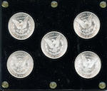 San Francisco Mint Morgan Dollars (5)