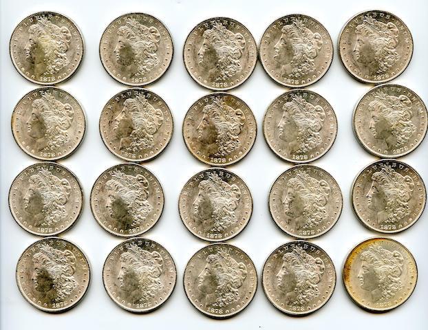 1878-S $1 (20)