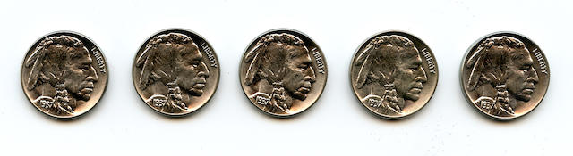 1937 Buffalo Nickel (5)