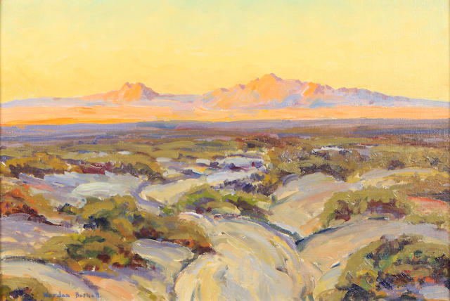 Charles Worden Bethell (American, 1899-1951) Desert View 16 x 24in