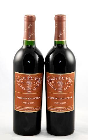 Clos Du Val Cabernet Sauvignon 1998(12)