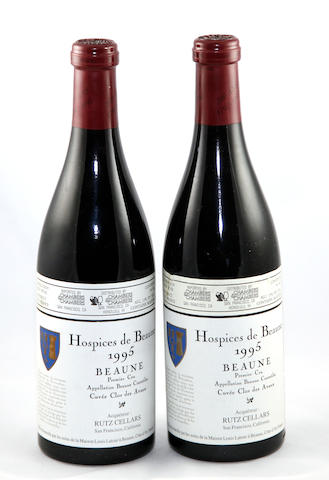Hospices de Beaune, Beaune, Cuvée Clos des Avaux, L. Latour 1995(12)