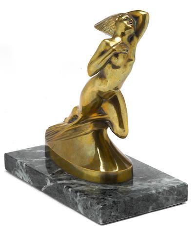 A 'Cote' dAzure' mascot by Lalique, c.30s,