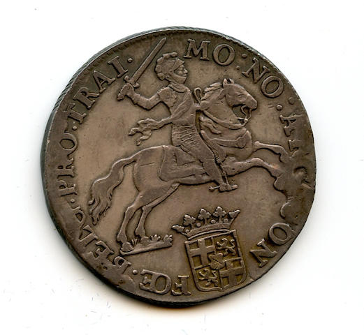 Netherlands, 1793 Silver Ducaton