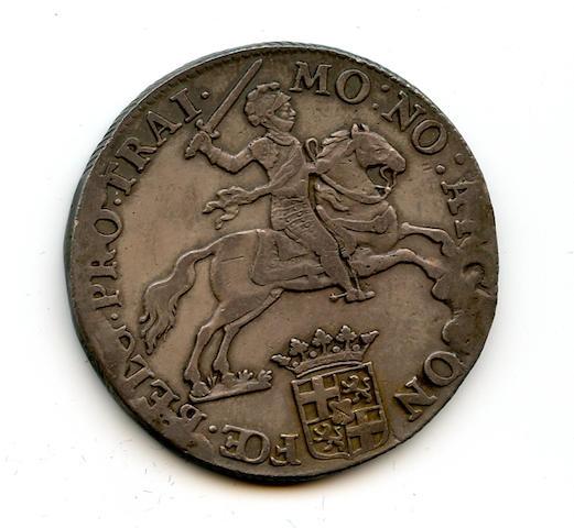 1793 Netherland 1 Ducat Utrecht Davenport 1832 VF+