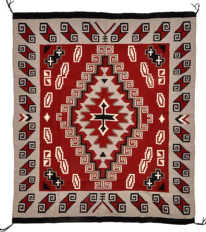A Navajo rug