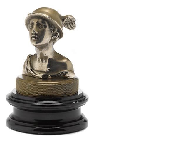 A 'Mercury Speed Head' mascot by Chini Bozzi, c. 20s.,