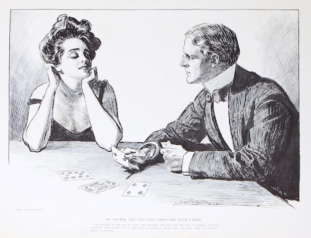 GIBSON, CHARLES DANA. Americans. New York: R.H. Russell, 1900.