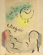 After Marc Chagall (Russian/French, 1887-1985); Couleur Amour; (9)