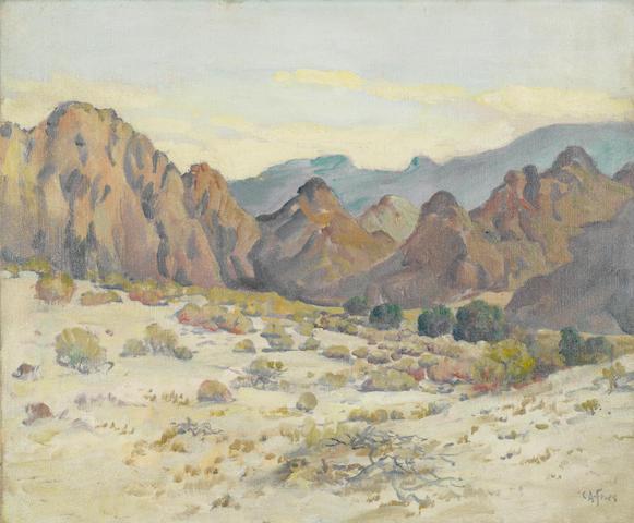 Charles Arthur Fries, Desert Peaks