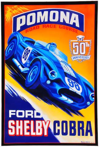 Robert Carter, 'Shelby Cobra 50th,'