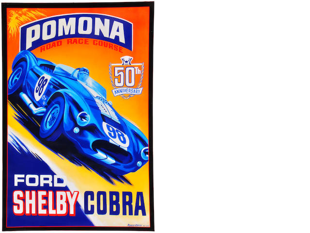Robert Carter, 'Shelby Cobra 50th,'