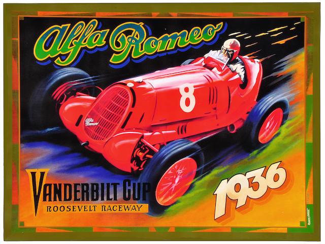 Robert Carter, 'Nuvolari Alfa 12c,'