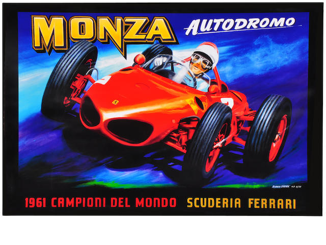 Robert Carter, 'Ferrari At Monza,'