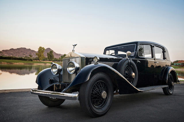 One of the oldest Phantoms extant, first of its type to be delivered to Australia,1925 Rolls-Royce Phantom I Saloon  Chassis no. 10MC Engine no. EB75