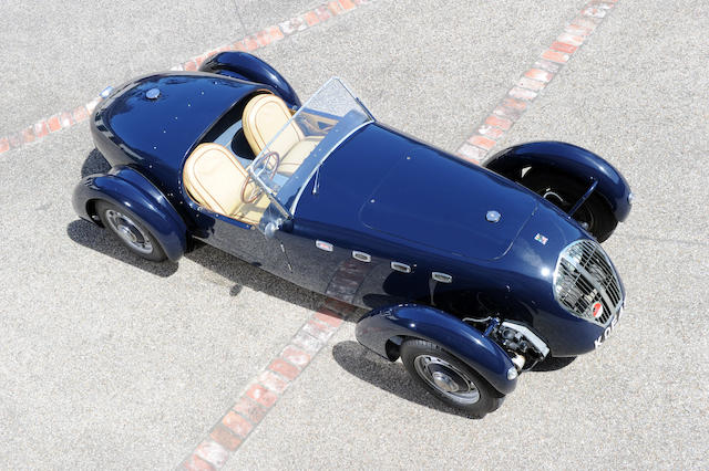 From the collection of the late Sam Garrett,1949 Healey Silverstone  Chassis no. D13 Engine no. 83698