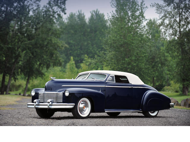 1941 Cadillac 62 Two-door Convertible