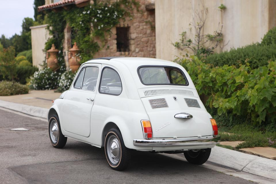 1967 Fiat 500F Coupe  Chassis no. 1415938 Engine no. 110F.000 1716376