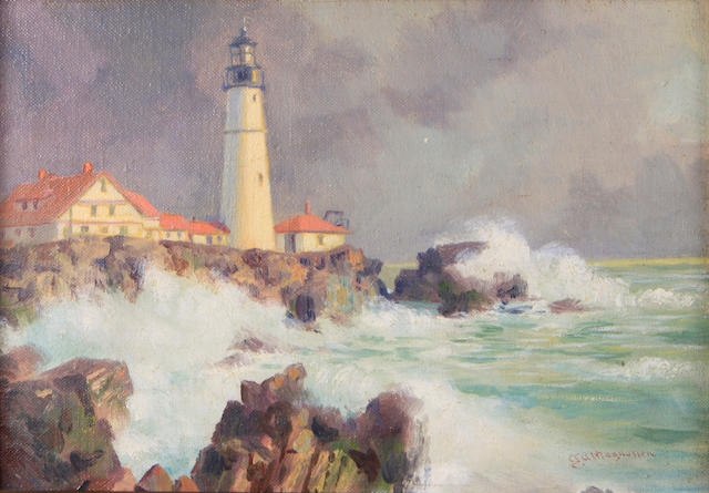 Magnussen, Lighthouse at Balboa Island