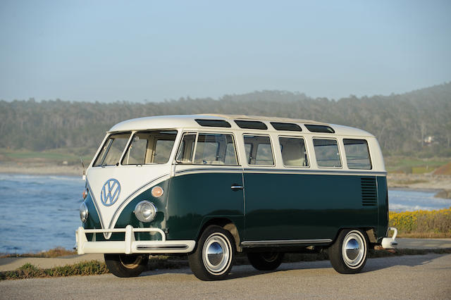 1966 Volkswagon 21-Window Safari Microbus  Chassis no. 246100364