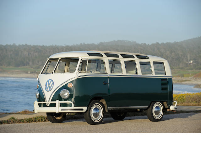 1966 Volkswagon 21-Window Safari Microbus  Chassis no. 246100364